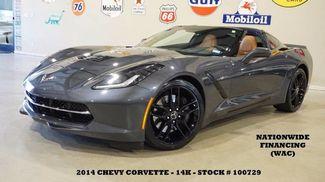 2014 Chevrolet Corvette Stingray Z51 3LT AUTO,HUD,NAV,HTD/COOL LTH,BLK WHLS,14K! in Carrollton TX, 75006