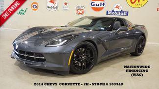 2014 Chevrolet Corvette Stingray Coupe Z51 3LT HUD,NAV,HTD/COOL LTH,BLK WHLS,2K! in Carrollton TX, 75006