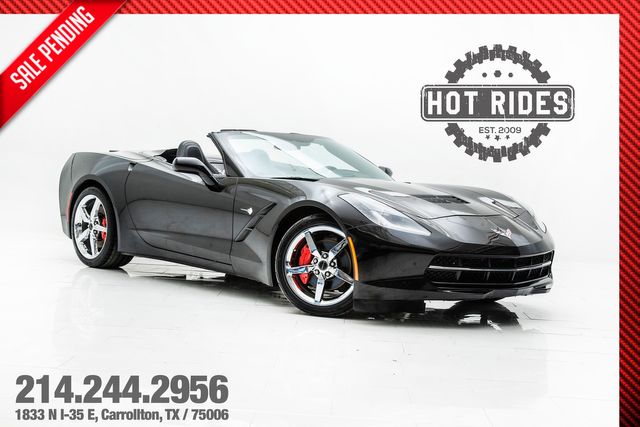 2014 Chevrolet Corvette Stingray 3LT Convertible in Carrollton, TX 75006