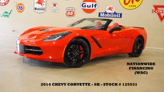 2014 Chevrolet Corvette Stingray Conv Z51 3LT AUTO,HUD,NAV,HTD/COOL LTH,6K in Carrollton, TX 75006