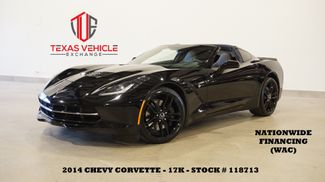 2014 Chevrolet Corvette Stingray Z51 3LT AUTO,HUD,NAV,HTD/COOL LTH,17K in Carrollton, TX 75006
