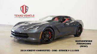 2014 Chevrolet Corvette Stingray Z51 2LT 7 SPD,HUD,NAV,HTD/COOL LTH,20K in Carrollton, TX 75006