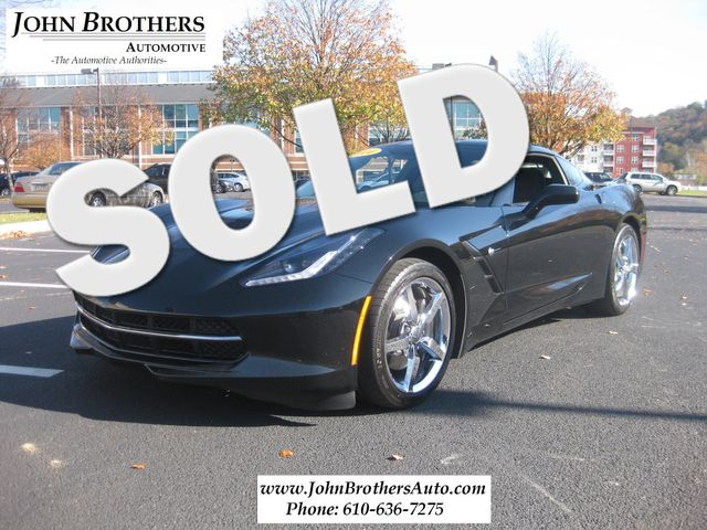 2014 Sold Chevrolet Corvette Stingray Conshohocken, Pennsylvania