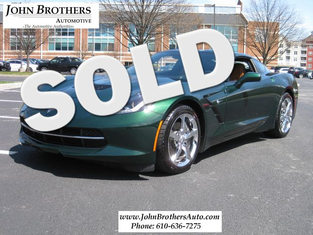 2014 Sold Chevrolet Corvette Stingray 2LT Conshohocken, Pennsylvania
