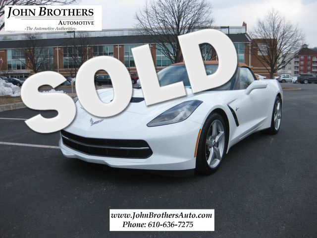2014 Sold Chevrolet Corvette Stingray 2LT Convertible Conshohocken, Pennsylvania