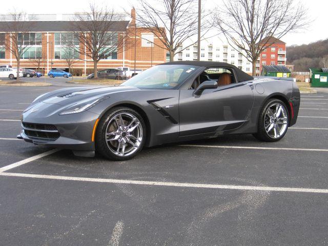 2014 Chevrolet Corvette Stingray Convertible Z51 3LT Conshohocken, Pennsylvania 1