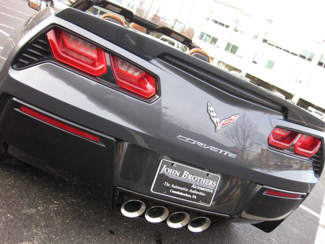 2014 Chevrolet Corvette Stingray Convertible Z51 3LT Conshohocken, Pennsylvania 39