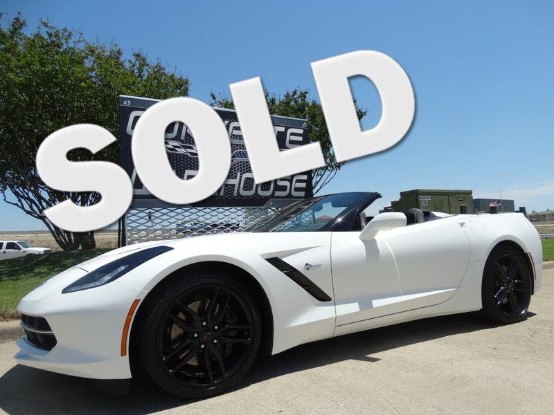 Awesome 2014 Chevrolet Corvette Stingray Convertible 3LT, Z51, NAV, Black Alloys  16k! | Dallas, Texas | Corvette Warehouse