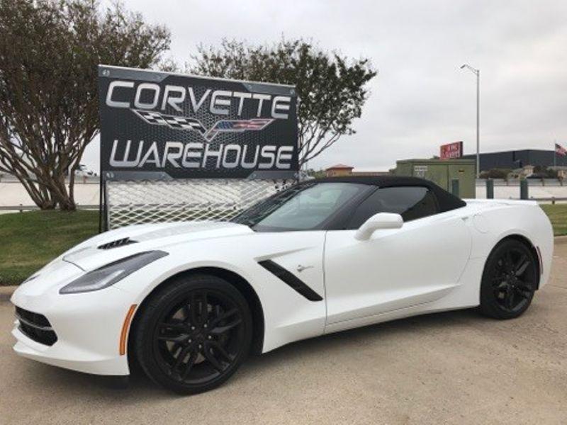 2014 Chevrolet Corvette Stingray Convertible 3LT, Z51, NAV, Black Alloys 18k!   Dallas, Texas   Corvette Warehouse