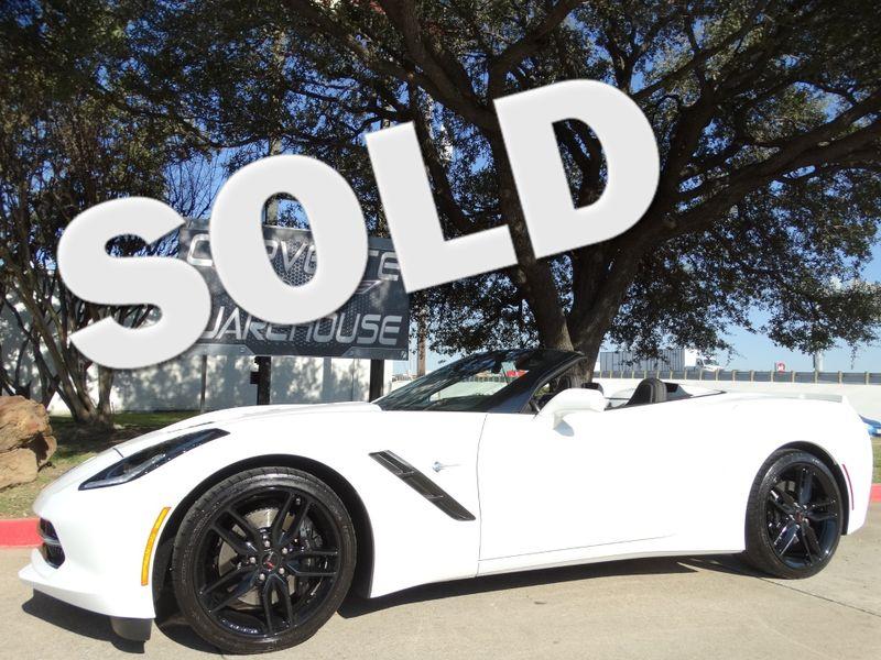 2014 Chevrolet Corvette Stingray Convertible 3LT, Z51, NAV, Black Alloys 18k! | Dallas, Texas | Corvette Warehouse