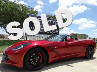 2014 Chevrolet Corvette Stingray Conv 3LT, Z51, FE4, NPP, NAV, Black Alloys 9k! | Dallas, Texas | Corvette Warehouse  in Dallas Texas