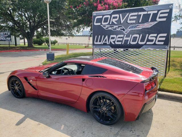 2014 Chevrolet Corvette Stingray Coupe Z51, 2LT, NPP, Carbon Top, Blk Alloys 64k in Dallas, Texas 75220