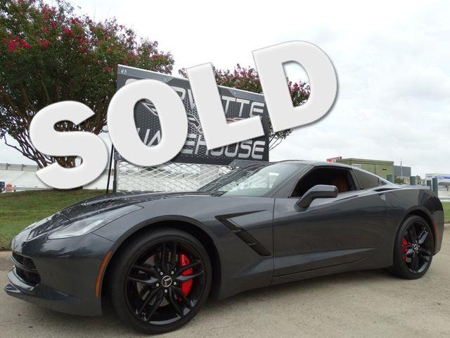 2014 Chevrolet Corvette Stingray Coupe Z51, 2LT, J55, Black Alloys, B&B Exhaust!! | Dallas, Texas | Corvette Warehouse  in Dallas Texas
