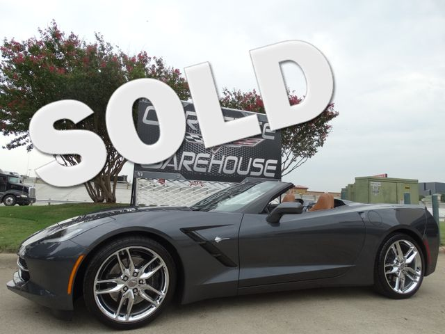 2014 Chevrolet Corvette Stingray Convertible Z51, 2LT, NPP, NAV, FE4, Chromes 5k! | Dallas, Texas | Corvette Warehouse  in Dallas Texas