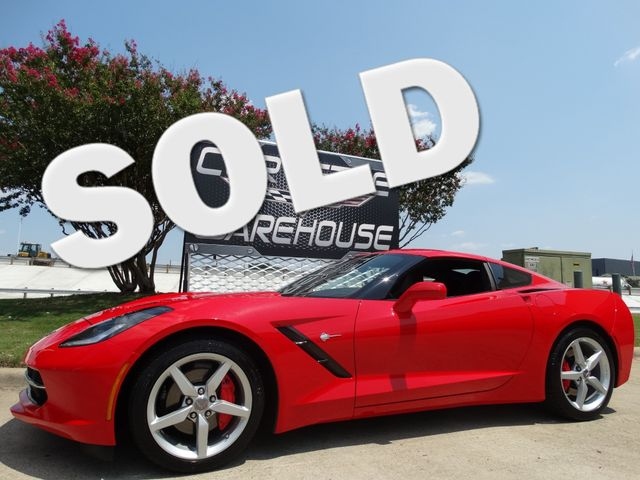 2014 Chevrolet Corvette Stingray Coupe Auto, CD Player, Alloys, One-Owner Only 11k! | Dallas, Texas | Corvette Warehouse  in Dallas Texas