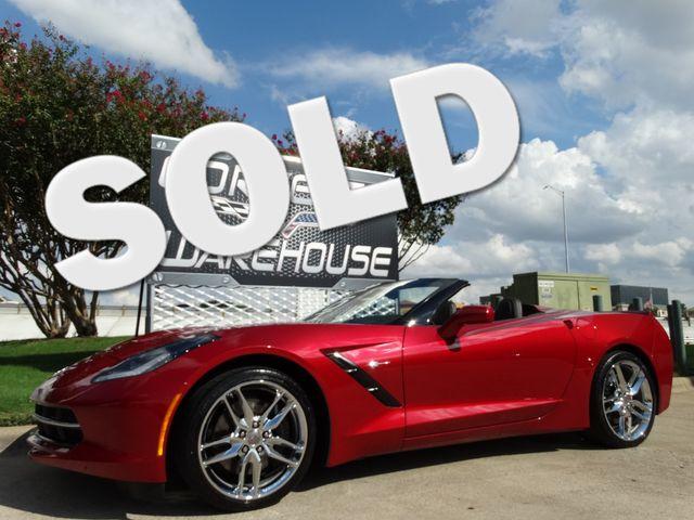 2014 Chevrolet Corvette Stingray Convertible Z51, 2LT, NAV, NPP, Chrome Wheels 30k   Dallas, Texas   Corvette Warehouse  in Dallas Texas