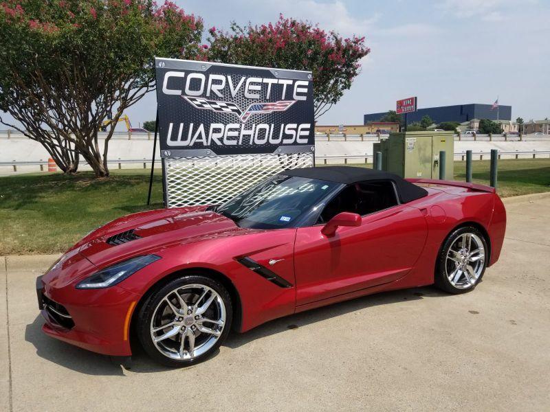 2014 Chevrolet Corvette Stingray Convertible Z51, 2LT, NAV, NPP, Chrome Wheels 30k | Dallas, Texas | Corvette Warehouse