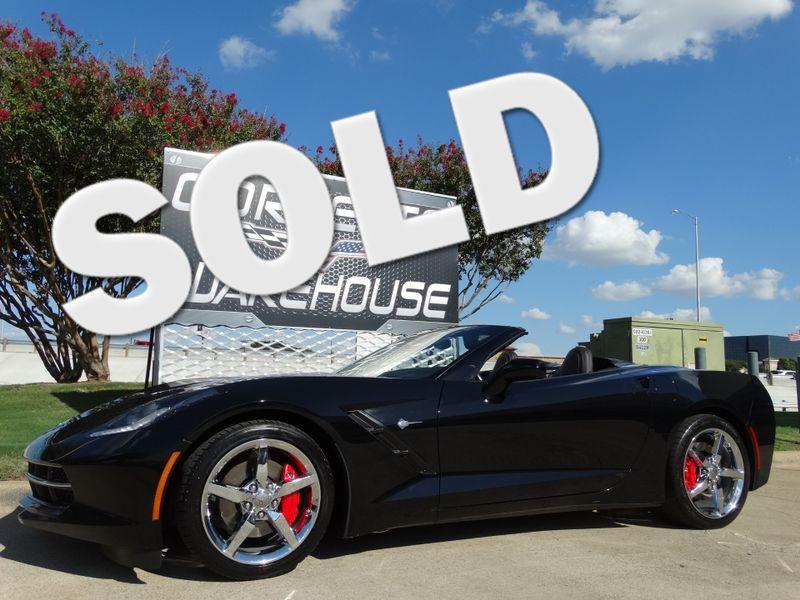 2014 Chevrolet Corvette Stingray Convertible 2LT, NPP, Automatic, Chrome Wheels! | Dallas, Texas | Corvette Warehouse