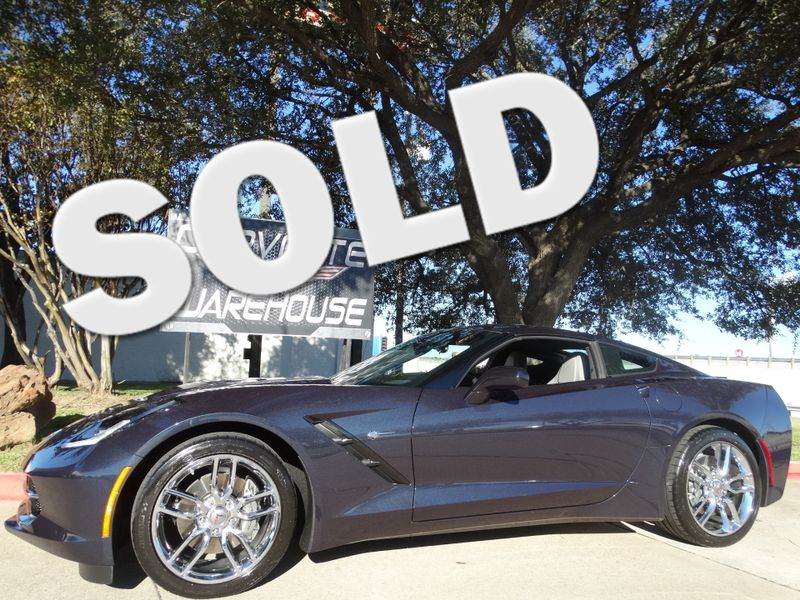 2014 Chevrolet Corvette Stingray Coupe Auto, Chrome Wheels, One-Owner, Only 10k!   Dallas, Texas   Corvette Warehouse