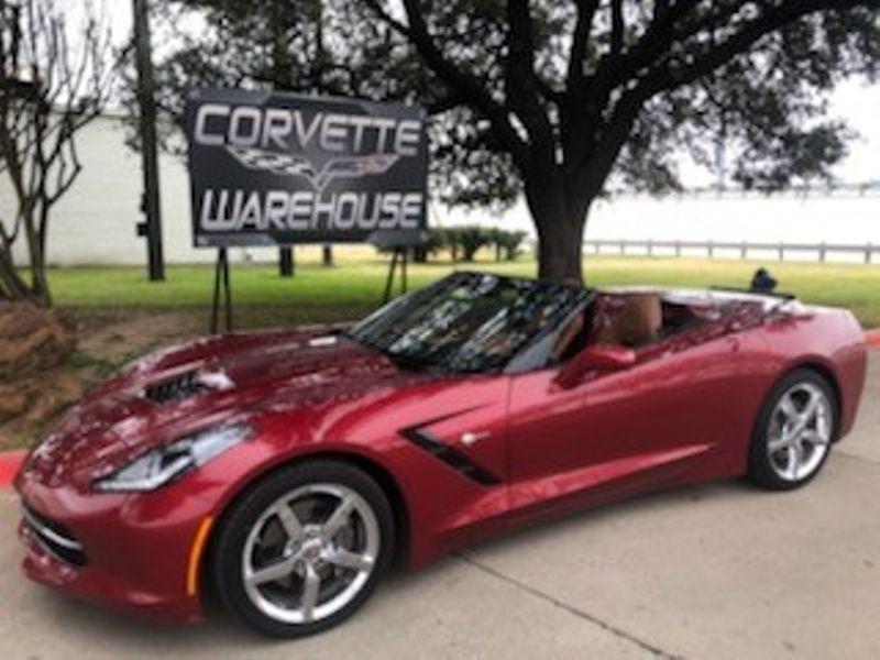 2014 Chevrolet Corvette Stingray Convertible 3LT, Auto, NAV, NPP, Chromes 56k! | Dallas, Texas | Corvette Warehouse