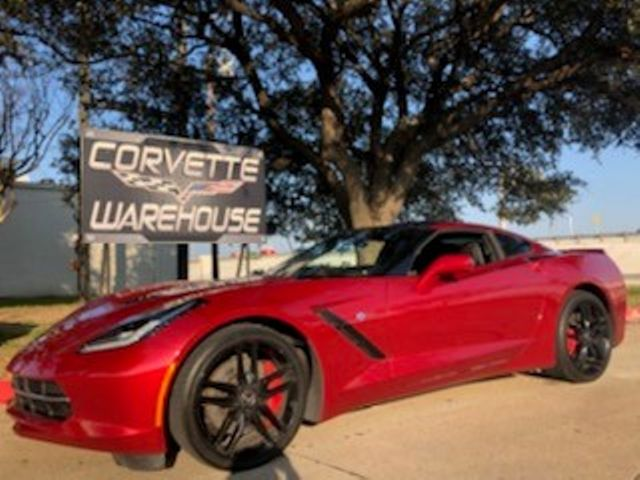 2014 Chevrolet Corvette Stingray Coupe Z51, 3LT, Auto, NPP, NAV, Black Alloys 36k!   Dallas, Texas   Corvette Warehouse  in Dallas Texas