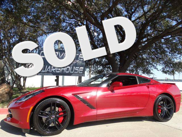 2014 Chevrolet Corvette Stingray Coupe Z51, 3LT, Auto, NPP, NAV, Black Alloys 36k! | Dallas, Texas | Corvette Warehouse  in Dallas Texas
