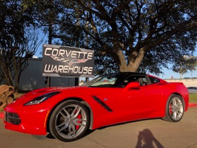 2014 Chevrolet Corvette Stingray Coupe Z51, 3LT, NAV, NPP, Chromes, 1-Owner 8k! | Dallas, Texas | Corvette Warehouse  in Dallas Texas
