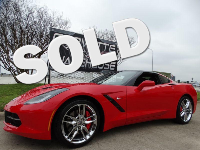 2014 Chevrolet Corvette Stingray Coupe Z51, 3LT, NAV, NPP, Chromes, 1-Owner 8k!   Dallas, Texas   Corvette Warehouse