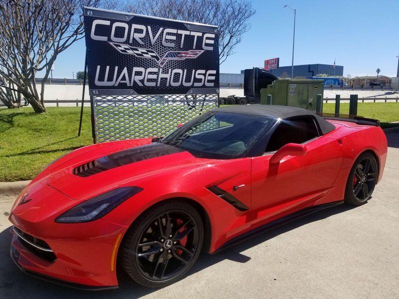2014 Chevrolet Corvette Stingray Convertible Z51, 2LT, NAV, NPP, Black Alloys 43k! | Dallas, Texas | Corvette Warehouse