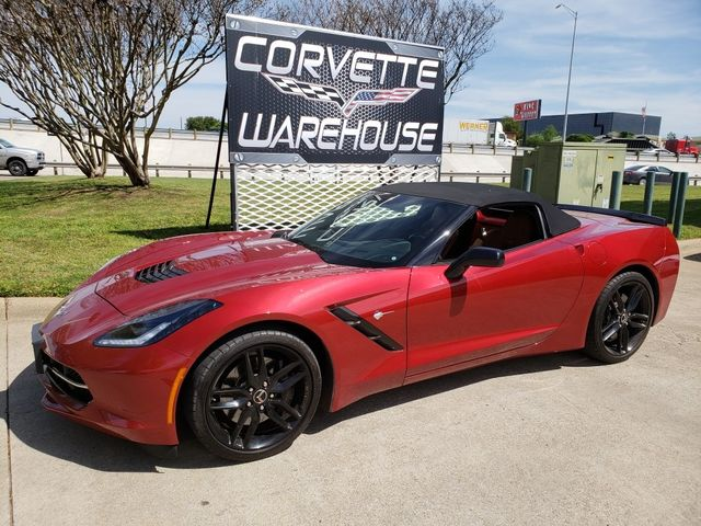 2014 Chevrolet Corvette Stingray Conv  Z51, 2LT, NPP, NAV, FE4, Blk Wheels 14k! | Dallas, Texas | Corvette Warehouse  in Dallas Texas