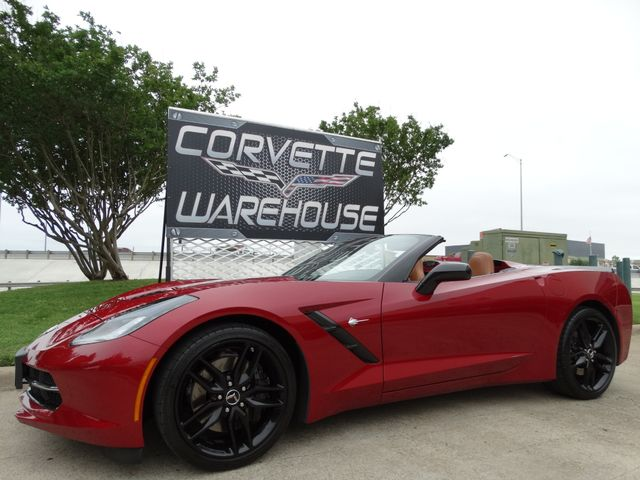 2014 Chevrolet Corvette Stingray Conv  Z51, 2LT, NPP, NAV, FE4, Blk Wheels 14k! | Dallas, Texas | Corvette Warehouse  in Dallas Texas