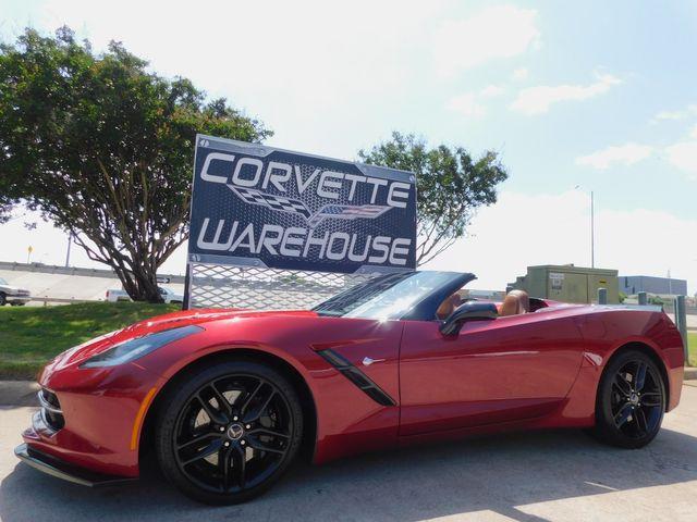 2014 Chevrolet Corvette Stingray Convertible Z51, 2LT, FE4, NPP, NAV, 20k Miles