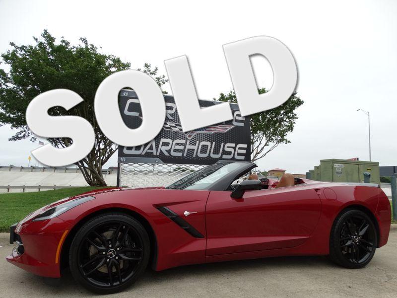 2014 Chevrolet Corvette Stingray Conv  Z51, 2LT, NPP, NAV, FE4, Blk Wheels 14k! | Dallas, Texas | Corvette Warehouse