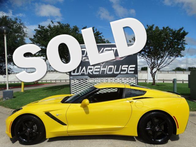 2014 Chevrolet Corvette Stingray Coupe 1LT, Auto, CD Player, Black Alloy Wheels 55k | Dallas, Texas | Corvette Warehouse  in Dallas Texas