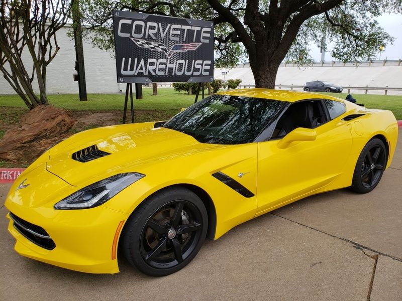 2017 Chevrolet Corvette Stingray Coupe 1lt Auto Cd Player Black Alloy Wheels 55k Dallas Texas Warehouse