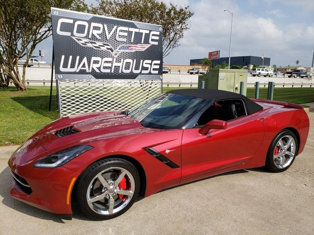 2014 Chevrolet Corvette Stingray Convertible 3LT, Auto, NAV, NPP, Chromes 1k Miles! | Dallas, Texas | Corvette Warehouse  in Dallas Texas