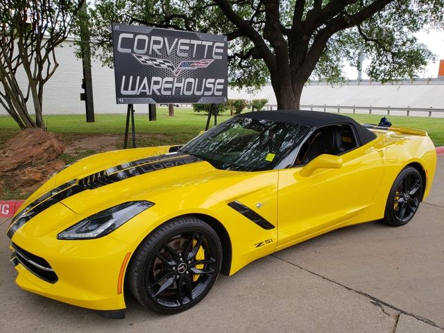 2014 Chevrolet Corvette Stingray Coupe Z51, 3LT, FE4, 7 Speed, NAV, 26k! | Dallas, Texas | Corvette Warehouse  in Dallas Texas