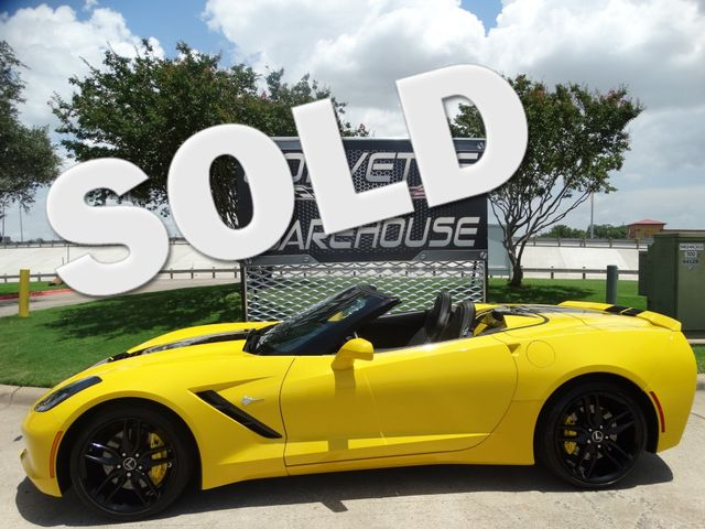 2014 Chevrolet Corvette Stingray Coupe Z51, 3LT, FE4, 7 Speed, NAV, 26k! | Dallas, Texas | Corvette Warehouse  in Dallas Texas