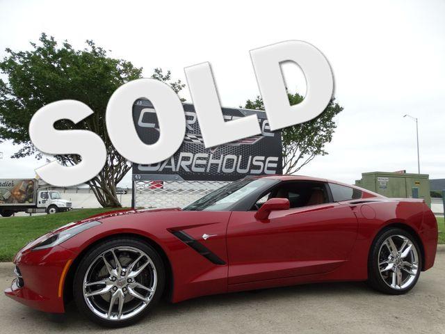 2014 Chevrolet Corvette Stingray Coupe Z51, 3LT, Auto, NAV, FE4, NPP, Chromes 19k! | Dallas, Texas | Corvette Warehouse  in Dallas Texas