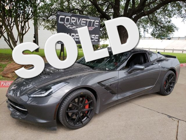2014 Chevrolet Corvette Stingray Coupe Z51, 3LT, FE4, NAV, NPP, Black Wheels! | Dallas, Texas | Corvette Warehouse  in Dallas Texas