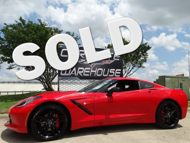 2014 Chevrolet Corvette Stingray Coupe 2LT, 7 Speed, NAV, NPP, Black Wheels 39k! | Dallas, Texas | Corvette Warehouse  in Dallas Texas