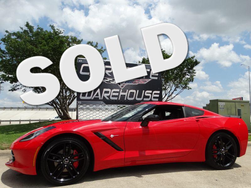 2014 Chevrolet Corvette Stingray Coupe 2LT, 7 Speed, NAV, NPP, Black Wheels 39k! | Dallas, Texas | Corvette Warehouse