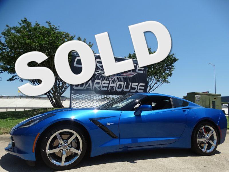 2014 Chevrolet Corvette Stingray Coupe 3LT, NAV, Auto, Chromes, 1-Owner, 9k! | Dallas, Texas | Corvette Warehouse