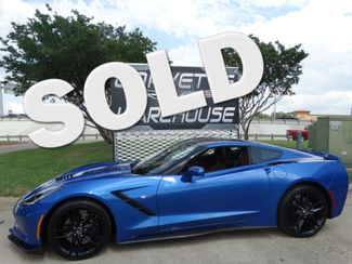 2014 Chevrolet Corvette Stingray Coupe Z51, 3LT, NAV, NPP, NPP, FE4, Blk Alloys 30k | Dallas, Texas | Corvette Warehouse  in Dallas Texas