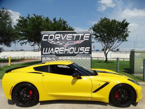 2014 Chevrolet Corvette Stingray Coupe Z51, 2LT, FE4, NAV, NPP, Black Alloys 9k! | Dallas, Texas | Corvette Warehouse  in Dallas, Texas