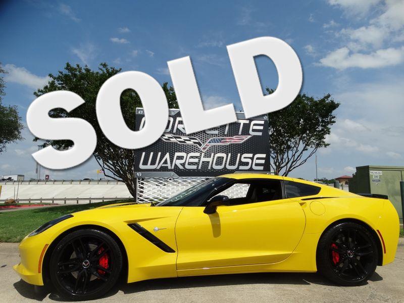2014 Chevrolet Corvette Stingray Coupe Z51, 2LT, FE4, NAV, NPP, Black Alloys 9k! | Dallas, Texas | Corvette Warehouse