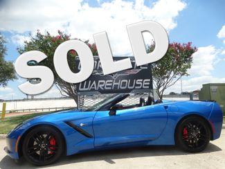 2014 Chevrolet Corvette Stingray Convertible Z51, 3LT, NAV, FE4, NPP, AE4, 22k! | Dallas, Texas | Corvette Warehouse  in Dallas Texas
