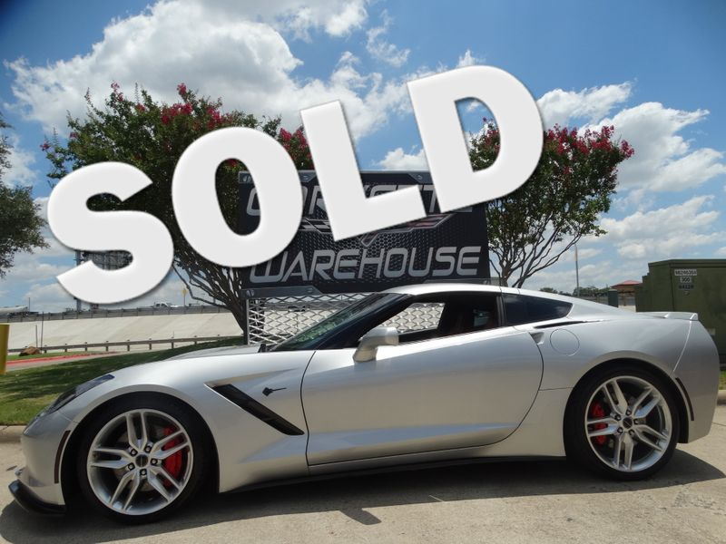 2014 Chevrolet Corvette Stingray Coupe Z51, 2LT, 7 Speed, Mylink, Alloys, NICE! | Dallas, Texas | Corvette Warehouse