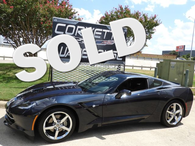 2014 Chevrolet Corvette Stingray Coupe 2LT, Auto, Mylink, Chrome Wheels, Only 31k! | Dallas, Texas | Corvette Warehouse  in Dallas Texas