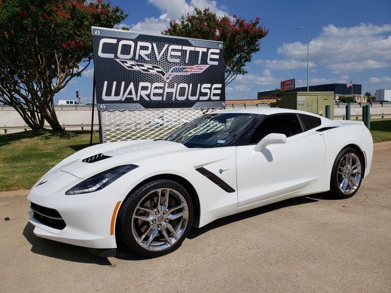 2014 Chevrolet Corvette Stingray Coupe Z51 1LT, 7-Speed Manual, NPP, Chromes 6k! | Dallas, Texas | Corvette Warehouse